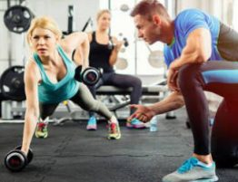 become a personal trainer and gym instructor